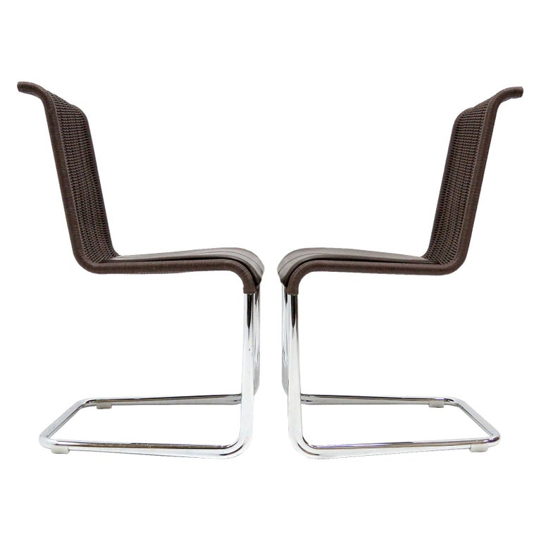 Tecta B45 High Back Chairs, 1981 For Sale