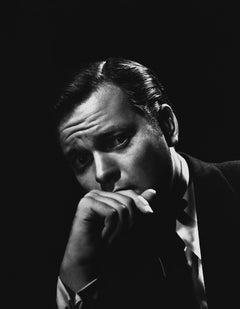 Orson Welles Dramatic Portrait Movie Star News Fine Art Print