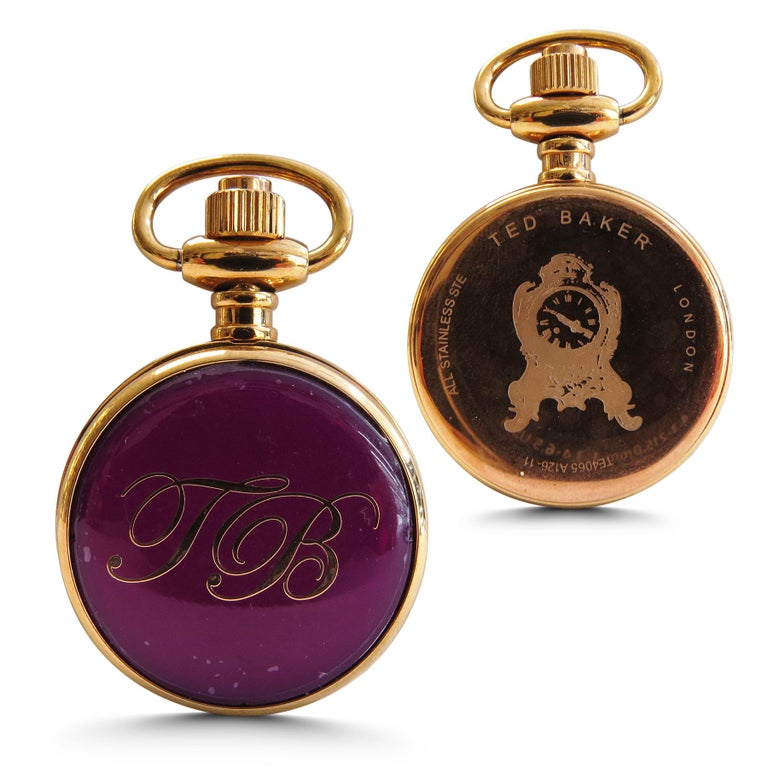 Contemporary Ted Baker London Lady's Pocket Watch Rose Gold-Plated