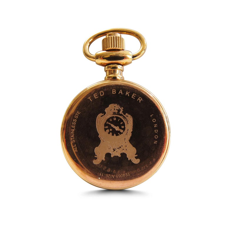 Women's or Men's Ted Baker London Lady's Pocket Watch Rose Gold-Plated