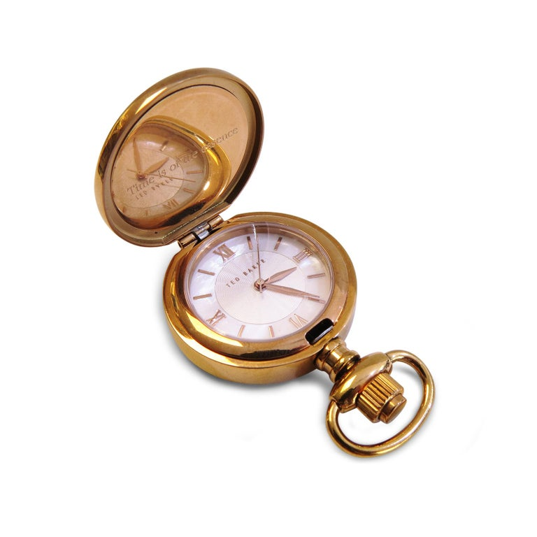 Ted Baker London Lady's Pocket Watch Rose Gold-Plated 1