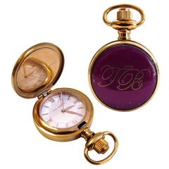 Ted Baker London Lady's Pocket Watch Rose Gold-Plated