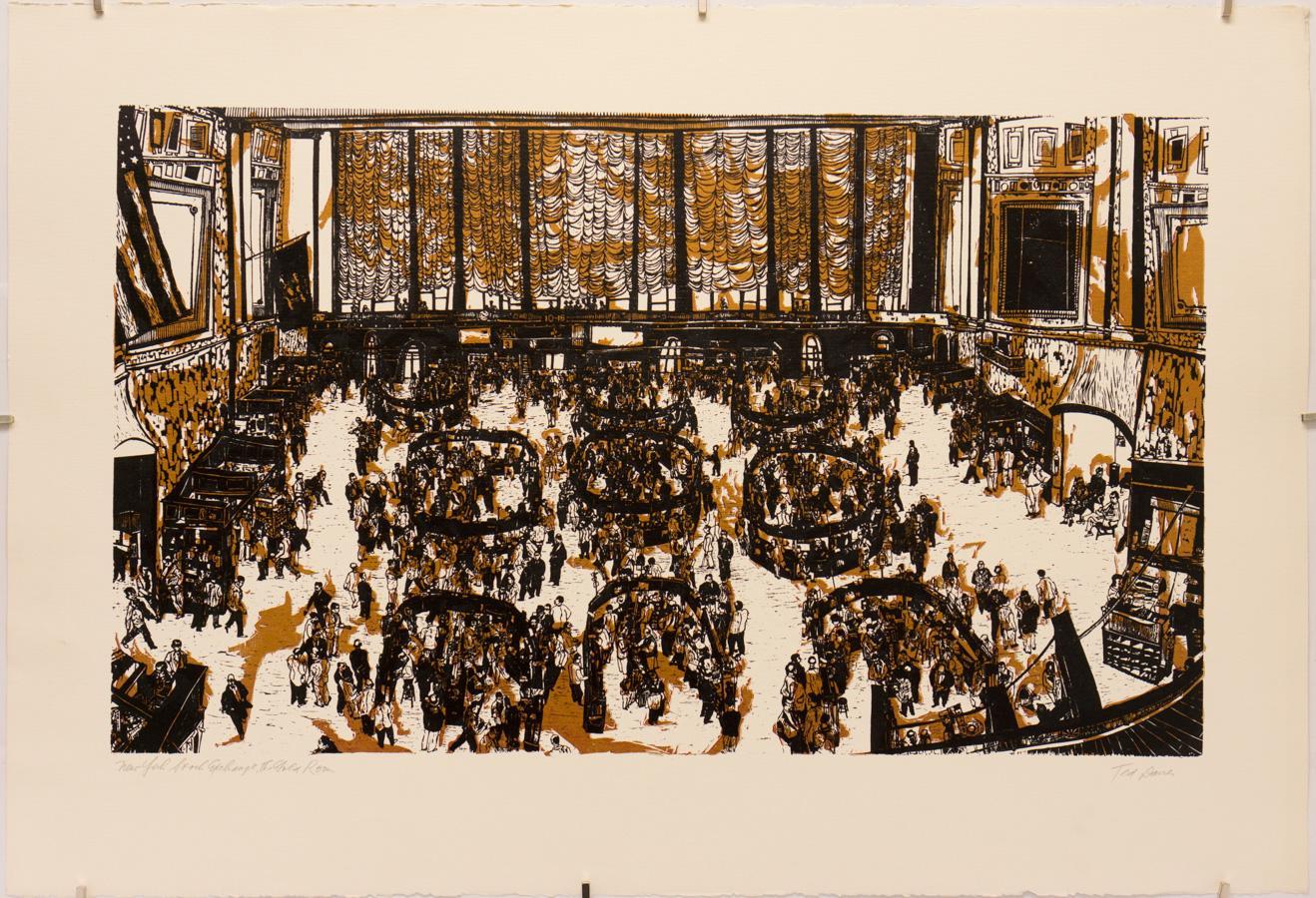 New York Stock Exchange, the Gold Room