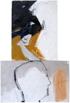 Xenith (Diptych), Ted Fullerton, Oil on Wood Panel