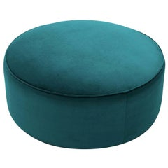 Ted Green Round Pouf