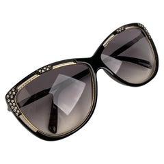 Ted Lapidus Vintage TL 17 01 Sunglasses Crystals 62-16 130mm