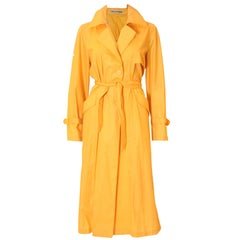 Ted Lapidus Yellow Trench Coat