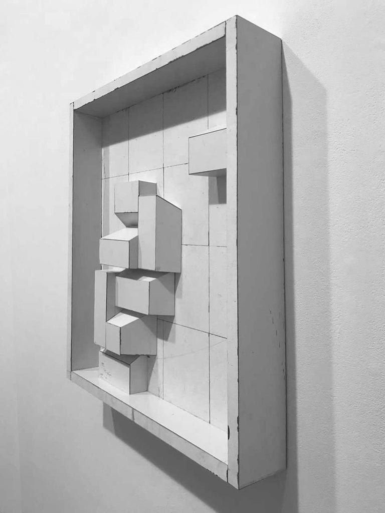 Educated Guess  - Abstract Geometric Sculpture by Ted Larsen