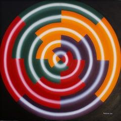 Earthquake, Painting, Acrylic on Canvas