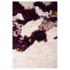 Ted Rug in Hand-Tufted Wool and Bamboo Silk