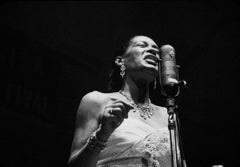 Billie Holiday (Ted Williams - Black and White Photography)