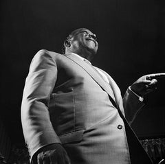 Count Basie, 1962 (Ted Williams - Black and White Photography)