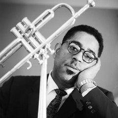 Dizzy Gillespie, 1960 (Ted Williams - Black and White Photography)