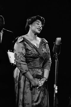 Ella Fitzgerald, 1961 (Ted Williams - Black and White Photography)