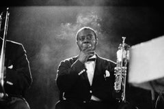 Louis Armstrong, 1962 (Ted Williams - Black and White Photography)