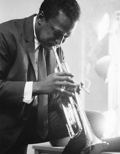 Miles Davis (Ted Williams - Black and White Photography)