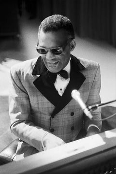 Ray Charles, 1972 (Ted Williams - Black and White Photography)