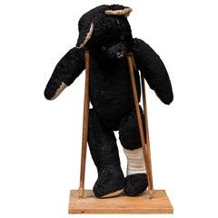 Teddy Bear on Crutches