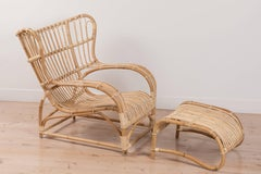 Teddy Chair and Ottoman by Viggo Boesen