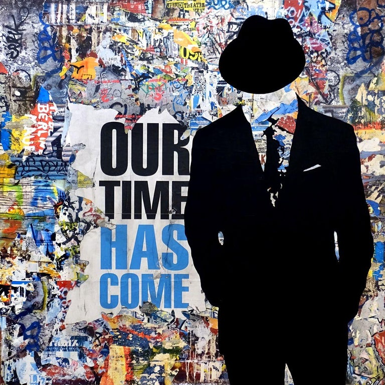 Tehos - Our time has come, Mixed Media on Canvas - Mixed Media Art by Tehos Frederic Camilleri