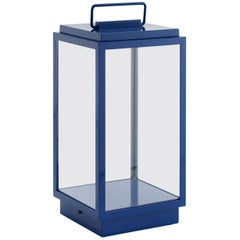 Tekna Blakes Table Lamp in Bronze with Royal Blue Lacquer