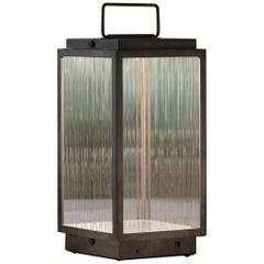 Tekna Blakes Table Lamp in Dark Bronze with Rivuletta Glass
