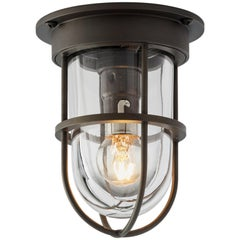 Tekna Bounty 12V Ceiling Light with Dark Bronze Finish and Clear Glass