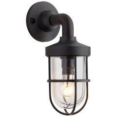 Tekna Bounty Wall 230V LED Wall Light with Dark Bronze Finish and Clear Glass