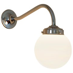 Tekna Clovelly Wall Light with Polished Nickel Finish