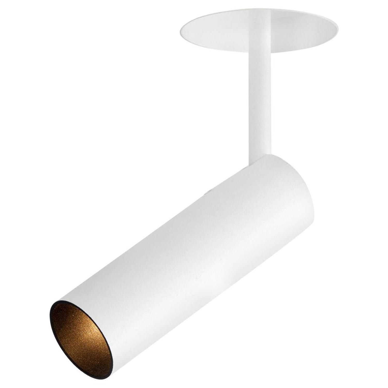 Tekna flatspot 6 gu10 led surface mount ceiling light in white