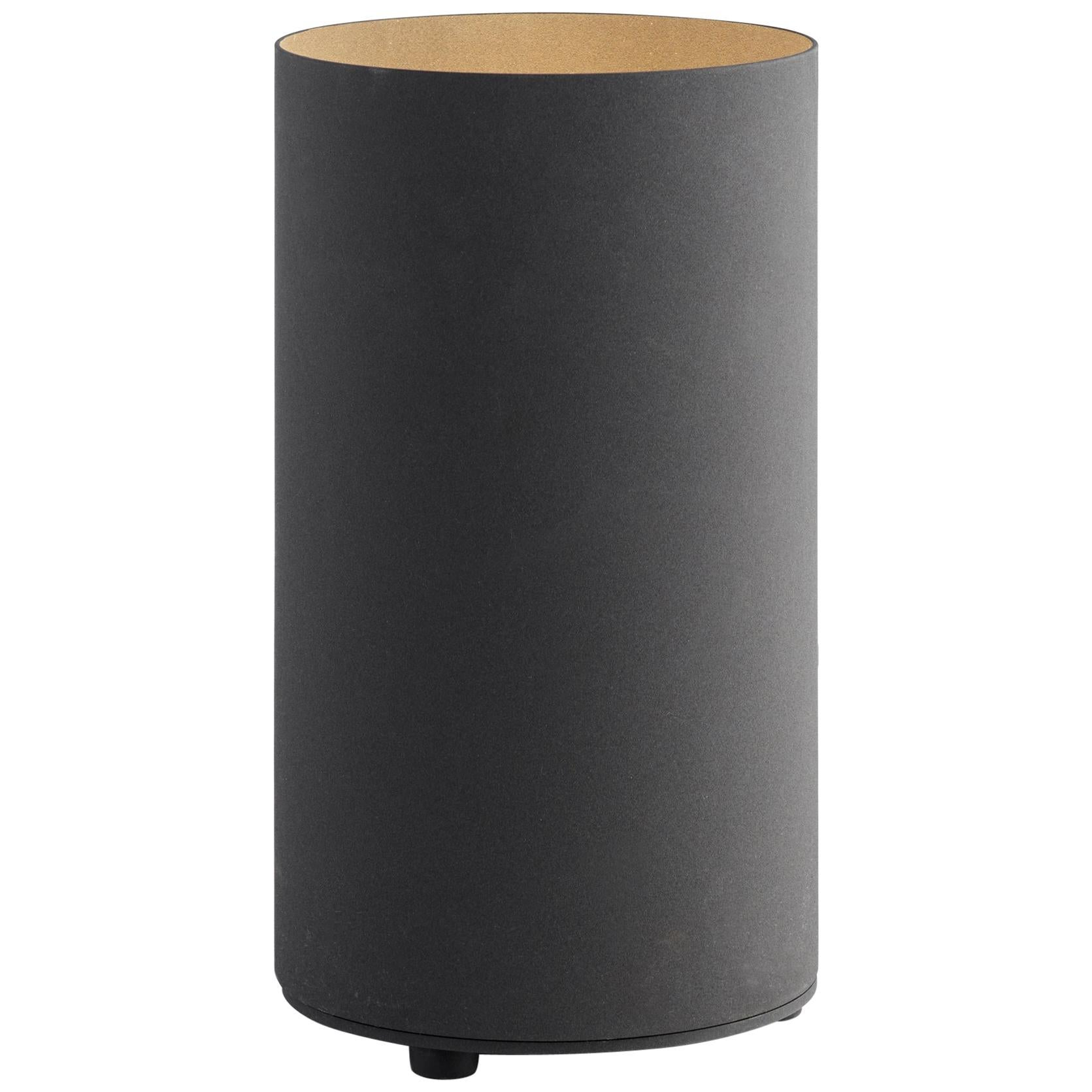 Tekna Floor Od LED Floor Lamp in Black with Gold-Colored Interior