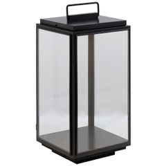Tekna Ilford Floor Light with Dark Bronze Finish and Clear Glass