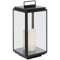 Tekna Ilford Large 230V Floor Lamp with Dark Bronze Finish and Clear Glass