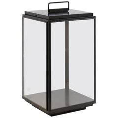 Tekna Ilford Large Battery-Powered Floor Lamp with Bronze Finish and Clear Glass