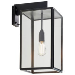 Tekna Ilford Wall-C Wall Light with Dark Bronze Finish and Clear Glass
