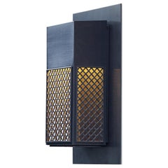 Tekna Maddox Wall Light with Dark Bronze Finish and Optional Wall Plate