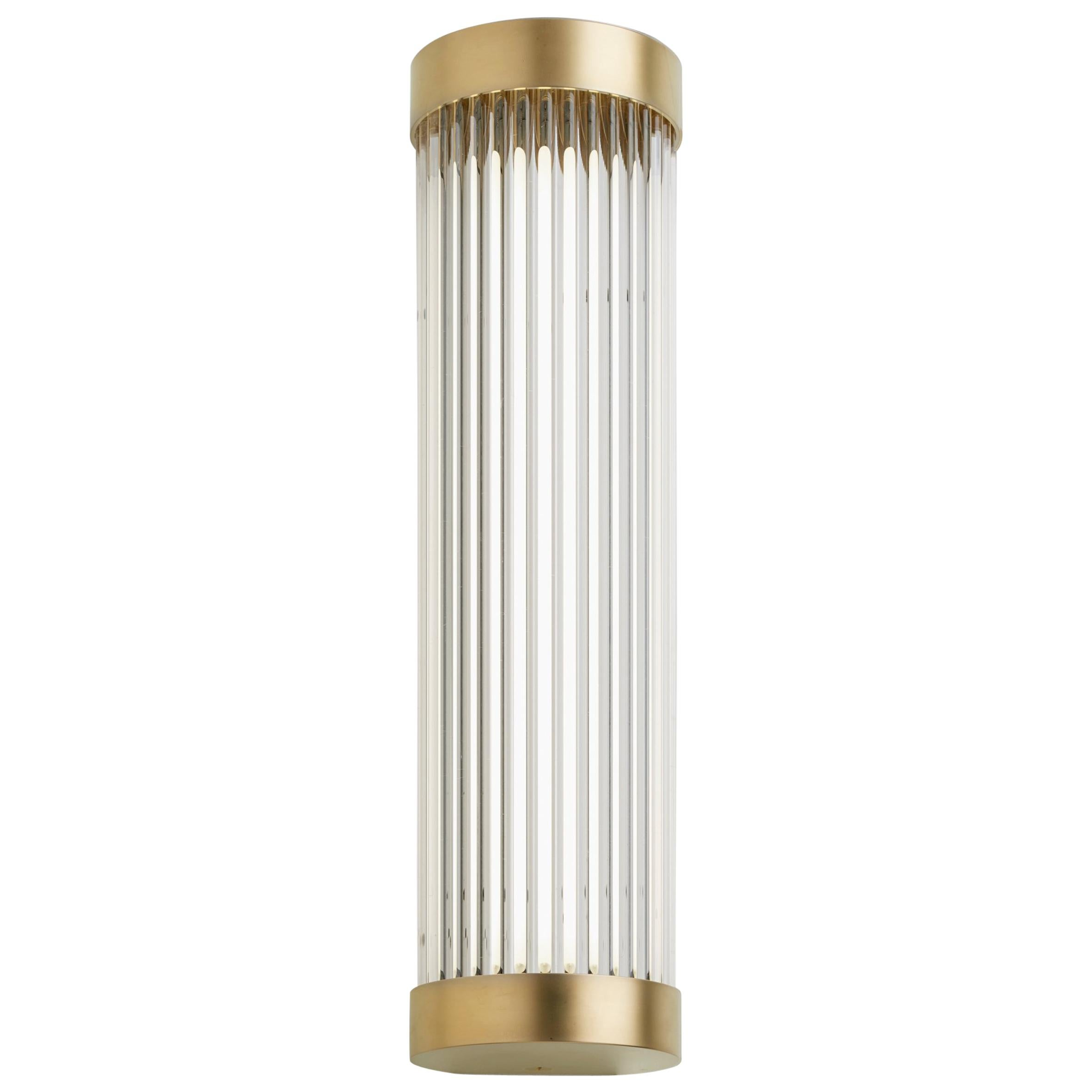 Tekna Mercer Wall Light with Gold Plated Brass Finish