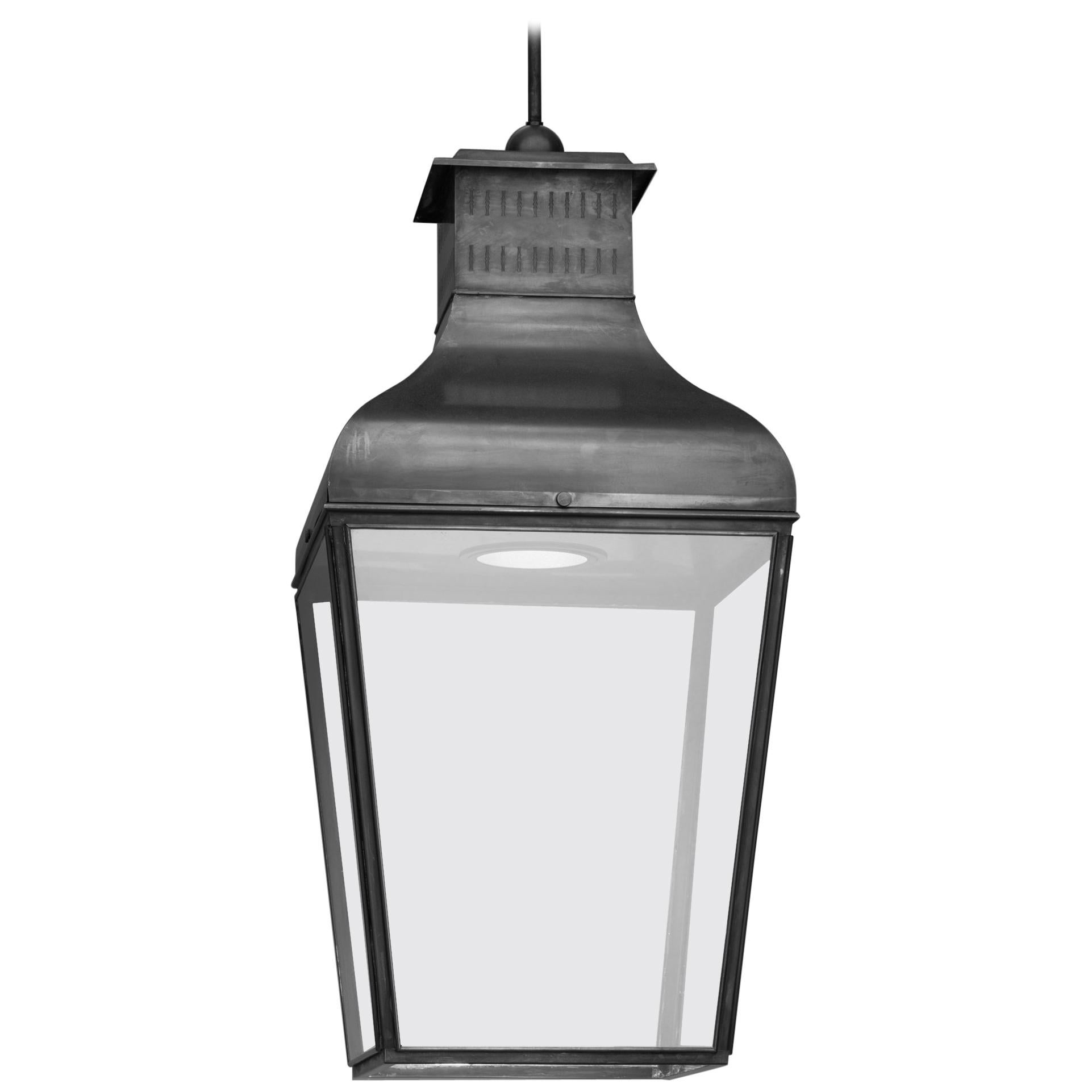 Tekna Montrose Large LED Pendant Light with Dark Bronze Finish and Clear Glass