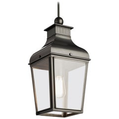 Tekna Montrose Small-C Pendant Light with Dark Bronze Finish and Clear Glass