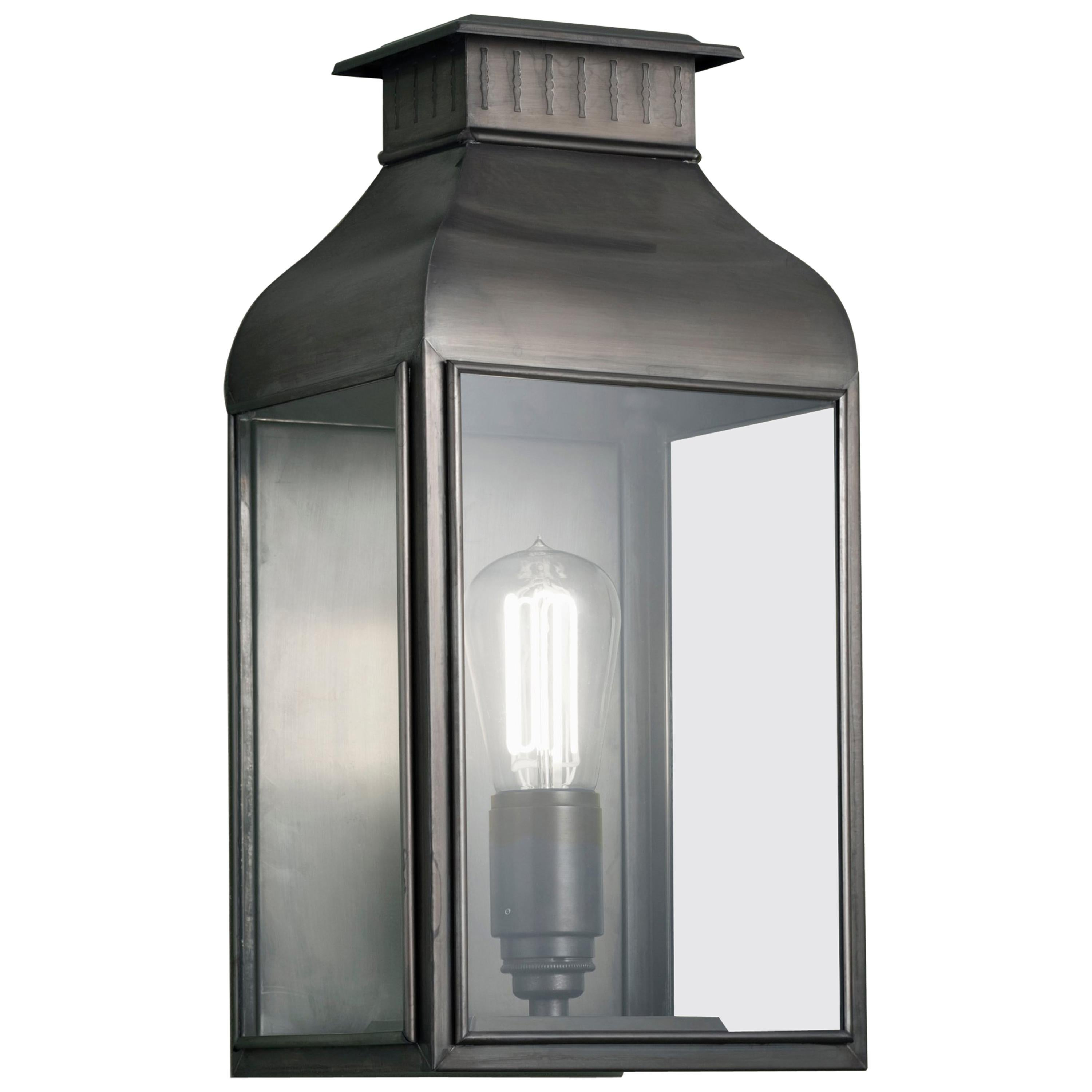 Tekna Pagode-C Wall Light with Dark Bronze Finish and Clear Glass