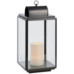 Tekna Penrose Candle Light with Dark Bronze Finish and Clear Glass