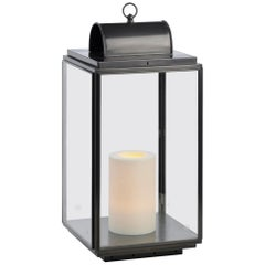 Tekna Penrose on 230V Candle Light with Dark Bronze Finish and Clear Glass