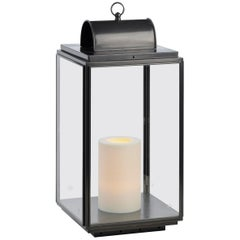 Tekna Penrose on 230V or US  LED Candle Light with Dark Bronze  and Clear Glass
