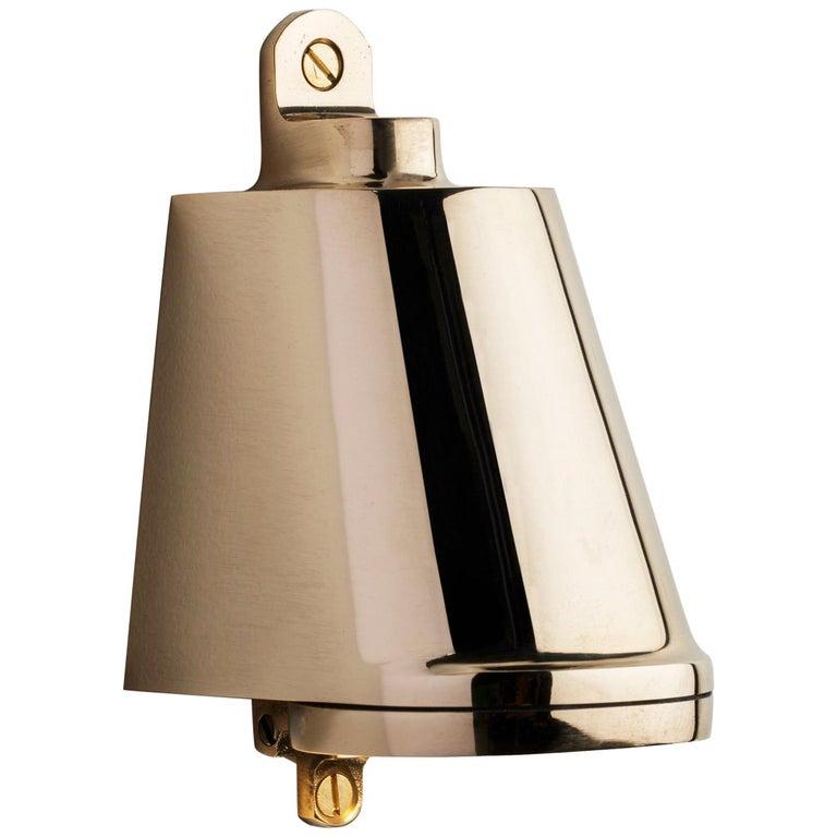 Tekna Spreaderlight 230V LED Wall Light with Polished Brass Finish For Sale