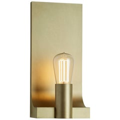 Tekna Walcott Wall Light with Sateen Brass Finish