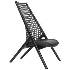 Tela Lounge Chair Leather
