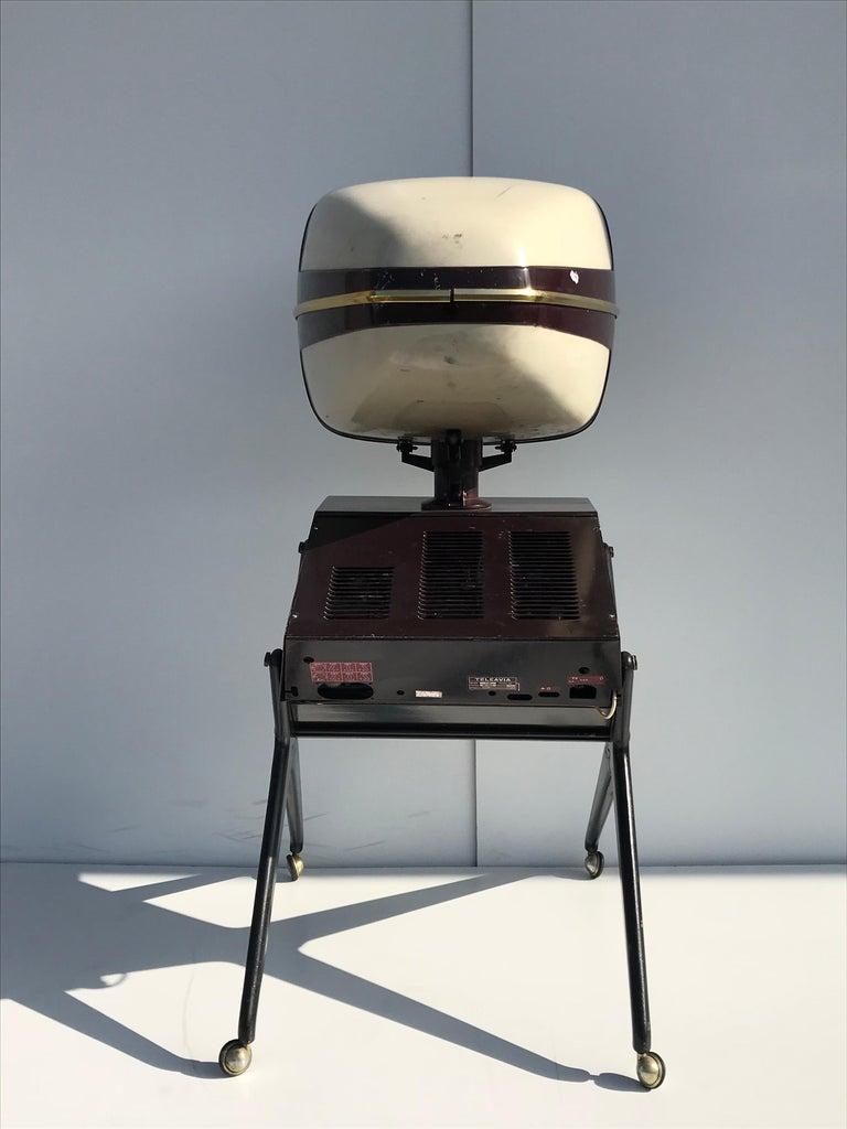 French Teleavia P111 TV Designed by Bertroni, 1958