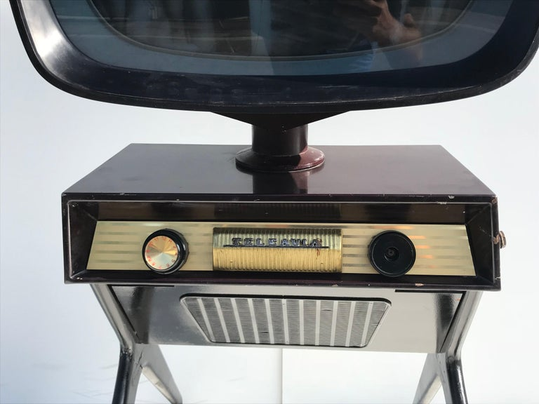 Teleavia P111 TV Designed by Bertroni, 1958 1
