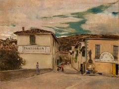 A square in Settignano