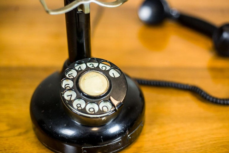 Telephone with a Rotary Dial, circa 1940 For Sale 1